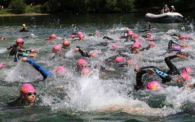 Le triathlon des Lacs de l'Eau d'Heure en images